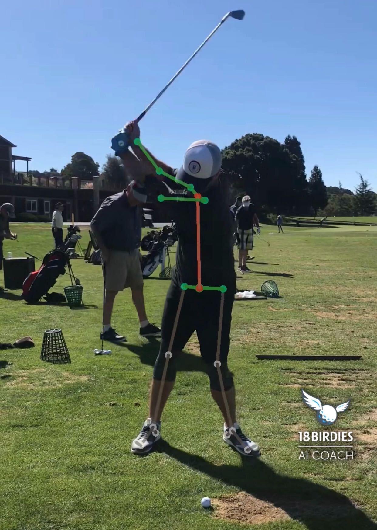 AI Coach swing analysis
