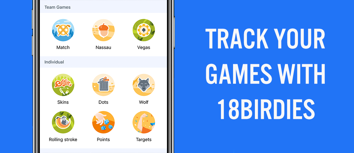 Track your golf games on the course with 18Birdies feature image